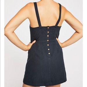 NWOT Free People Short N' Sweet Solid Mini Dress